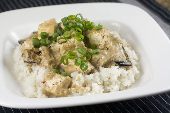 Charred Eggplant Curry recipe