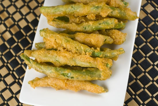 finished Fried Green Beans recipe
