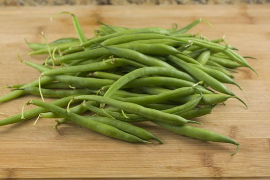 Fried Green Beans - fresh beans