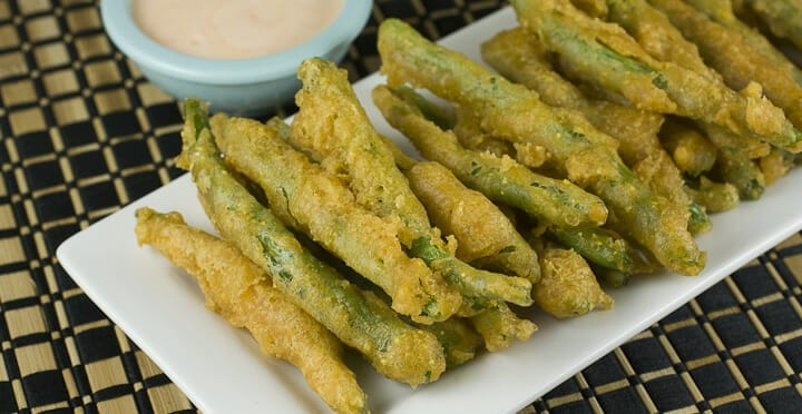Fried Green Beans from Macheesmo