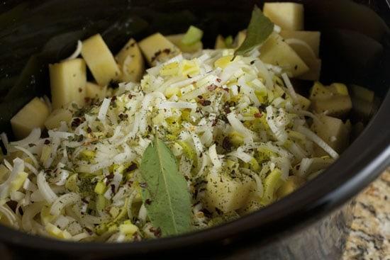 spices for Crockpot Potato Soup