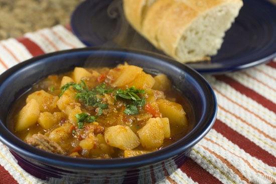 Spicy Potato Tapas recipe from Macheesmo
