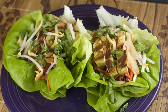 Grilled Tofu Wraps - so pretty