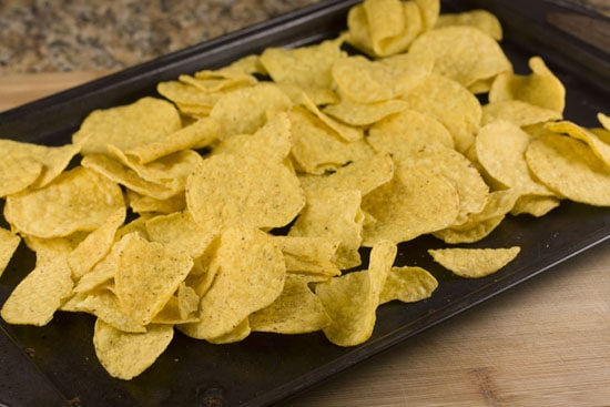 tortilla chips for Breakfast Nachos