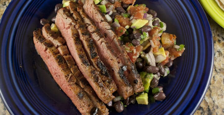 Quick Carne Asada recipe from Macheesmo