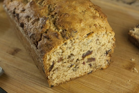 Sweet Date Loaf recipe from Macheesmo
