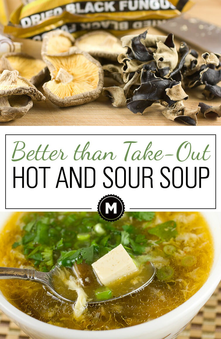 While this hot and sour soup recipe does take some time and love to make, it has some fun ingredients and is totally better than most restaurant versions. It makes a bunch and freezes well so it's totally worth the work!