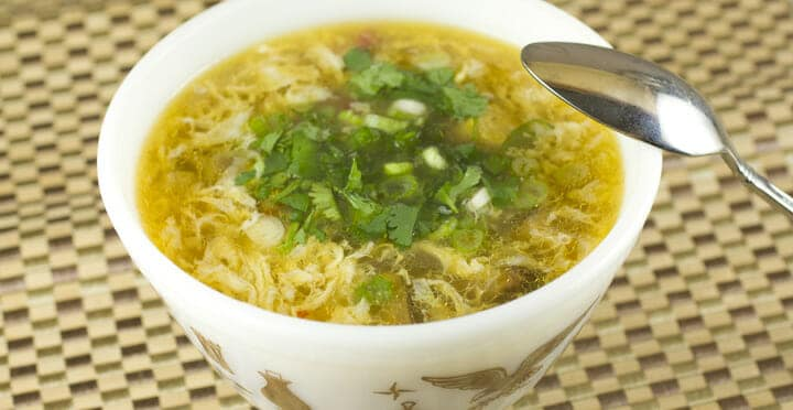 Hot and Sour Soup recipe from Macheesmo