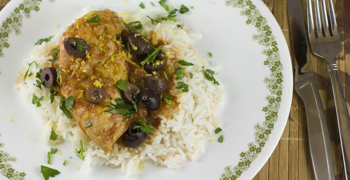 Slow Cooker Chicken Provencal - Macheesmo