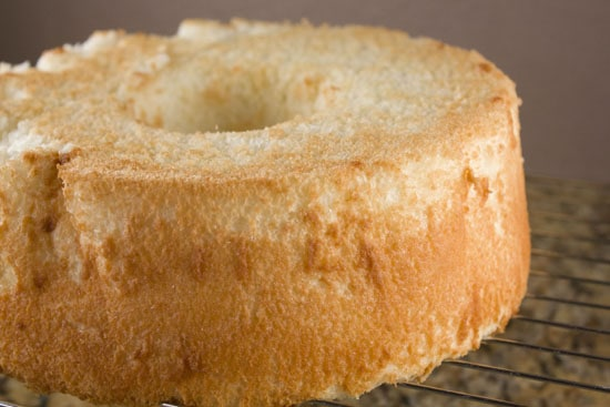 cake - Homemade Angel Food Cake