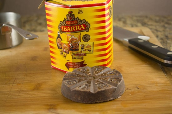 chocolate for homemade mole sauce