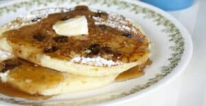 Date and Honey Pancakes from Macheesmo
