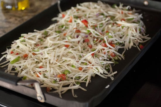 griddle the Southwestern Hash Browns