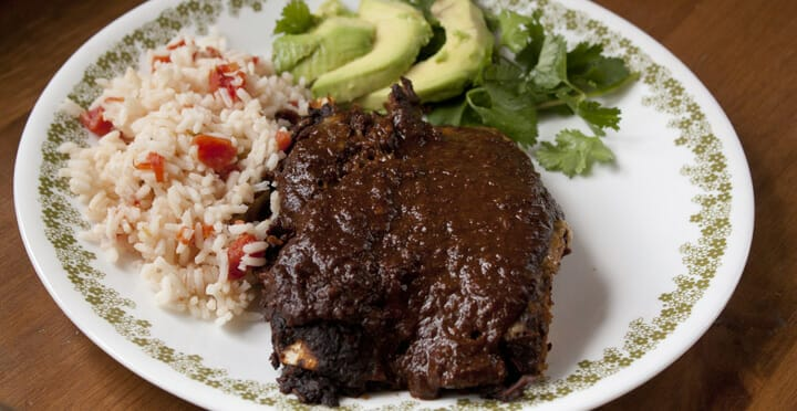 Homemade Mole Sauce from Macheesmo