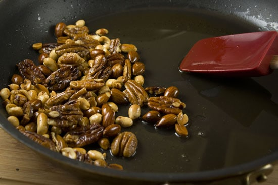homemade mole sauce nuts