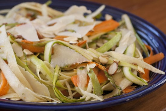 Vegetable Ribbon Salad from Macheesmo
