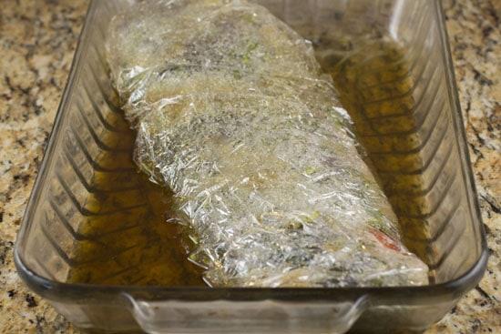 jefrigerate - Bourbon Cured Salmon