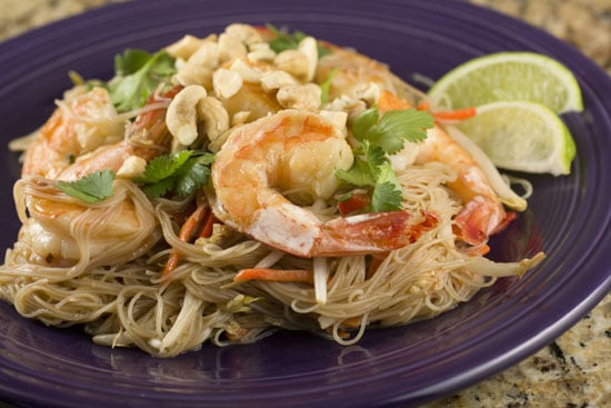 plated Shrimp Pad Thai