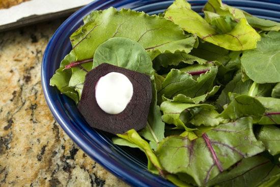 stacking Beet and Orange Salad