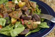 Steak and Potato Salad fro Macheesmo