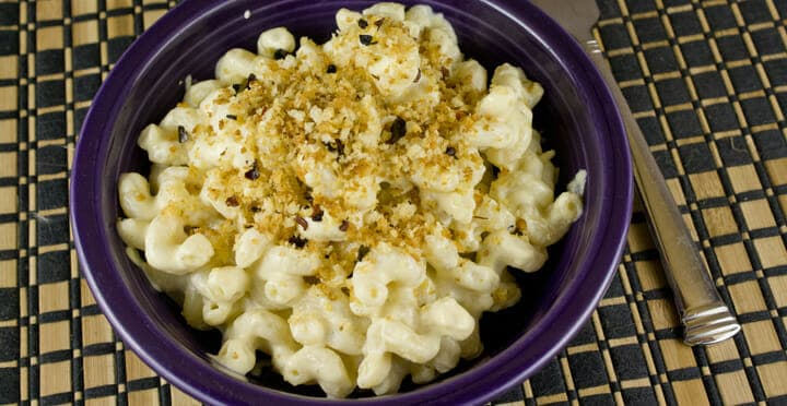 Tofu Mac and Cheese recipe from Macheesmo