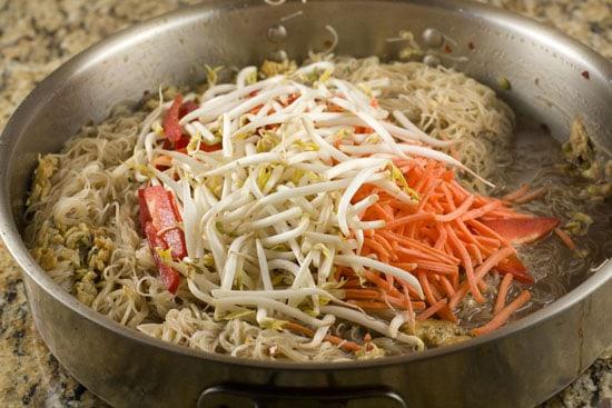 veggies for Shrimp Pad Thai