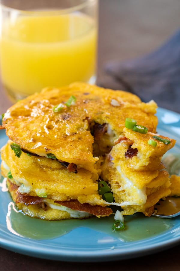 Stuffed Griddle Cakes