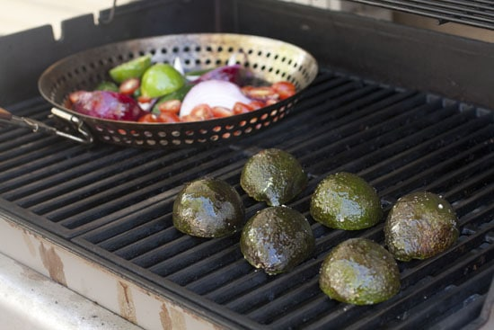 Grilling the Guacamole - Grilled Guacamole