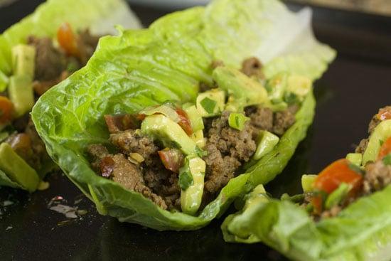 Turkey Lettuce Wraps recipe - Macheesmo