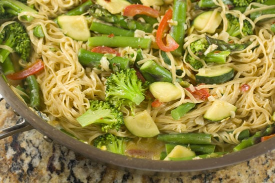 tossed Homemade Pasta Primavera