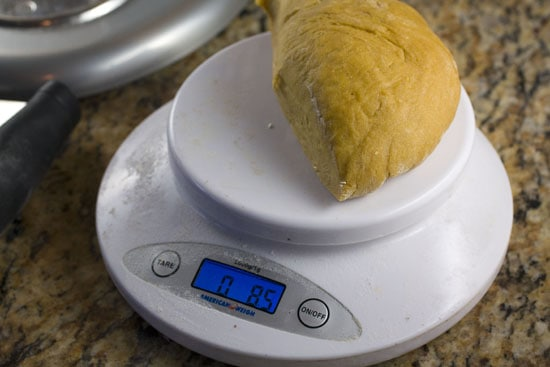 weighed - Homemade Pasta Primavera