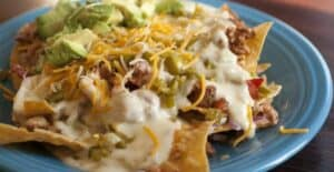 Rib nachos from Macheesmo