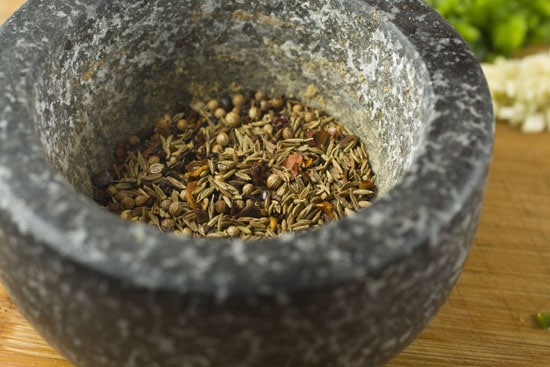 spices for Turkey Lettuce Wraps