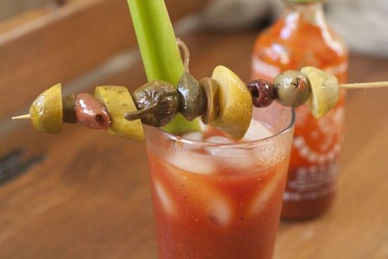Sriracha Bloody Mary - Macheesmo