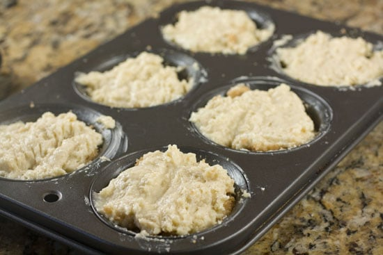 topped - Coffee Cake Muffins