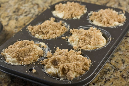 top ready to bake - Coffee Cake Muffins