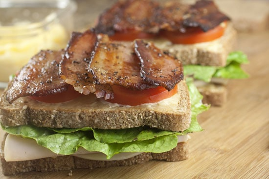 bacon - Traditional Club Sandwich