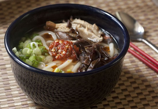 noodle bowl toppings - Mushroom Tofu Noodle Bowls