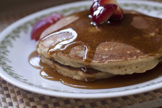 Brown Banana Pancakes recipe - Macheesmo