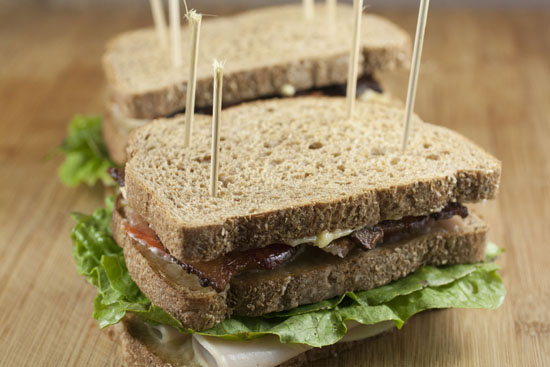 Traditional Club Sandwich from Macheesmo