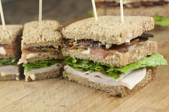 Traditional Club Sandwich ~ Macheesmo