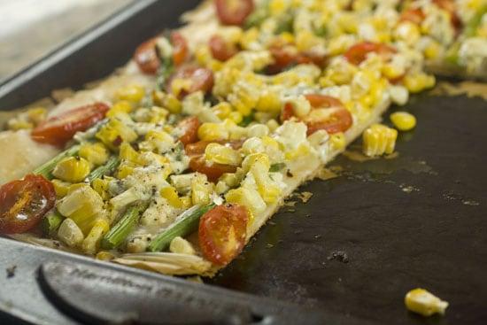 sliced - Asparagus Phyllo Tart
