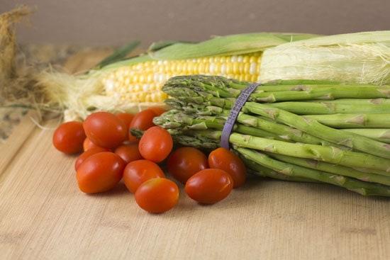 veg for Asparagus Phyllo Tart