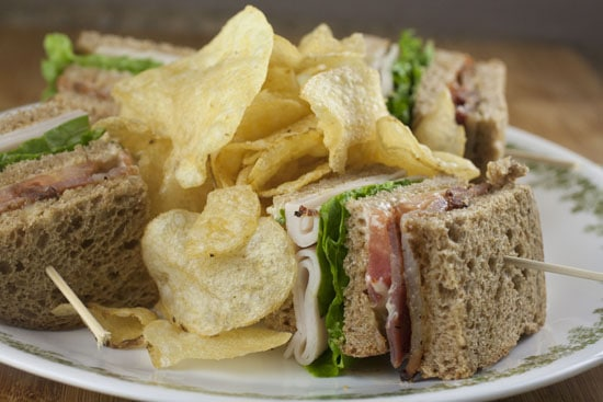 Traditional Club Sandwich recipe from Macheesmo