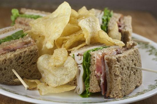 Traditional Club Sandwich recipe from Macheesmo
