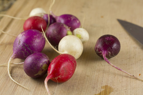 radishes - Spicy Radish Salad