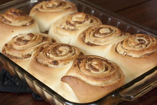 baked Date Cinnamon Rolls
