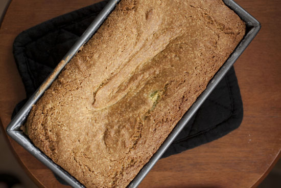 baked Avocado Pound Cake