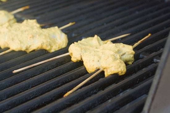 grilled for Chicken Tikka Sandwiches
