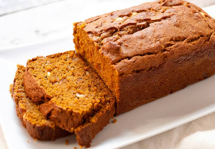 coconut white choc pumpkin bread link